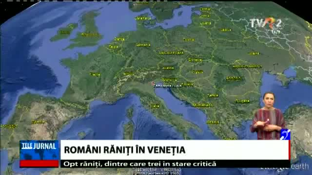 Accident grav în Veneția