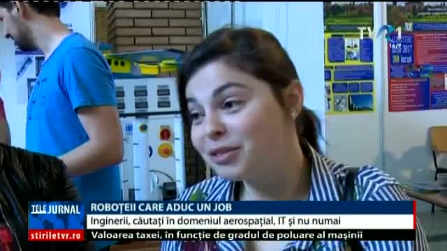 Roboțeii care aduc un job