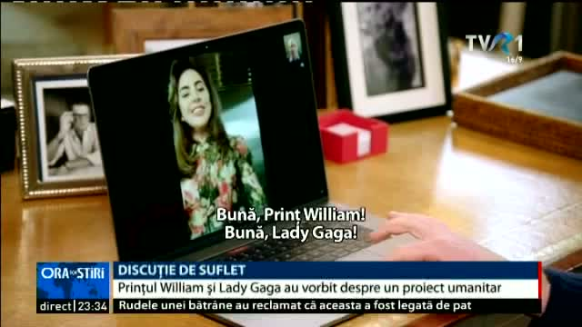 Discuție de suflet. Lady Gaga, Prințul William