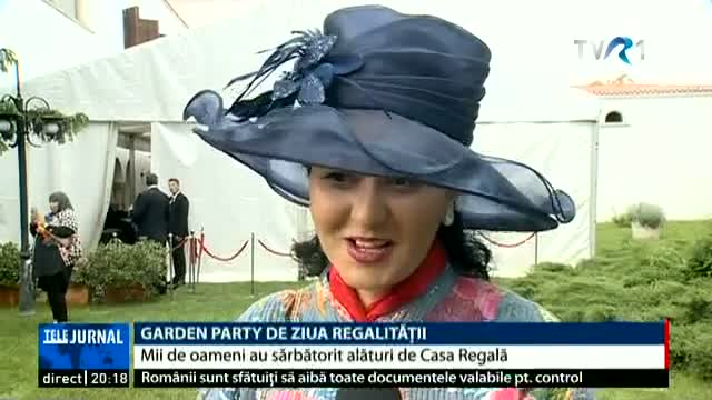 Garden Party de Ziua Regalității
