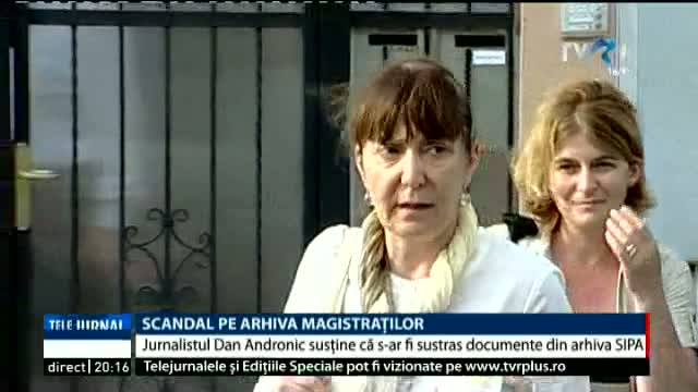 Scandal pe arhiva magistraților