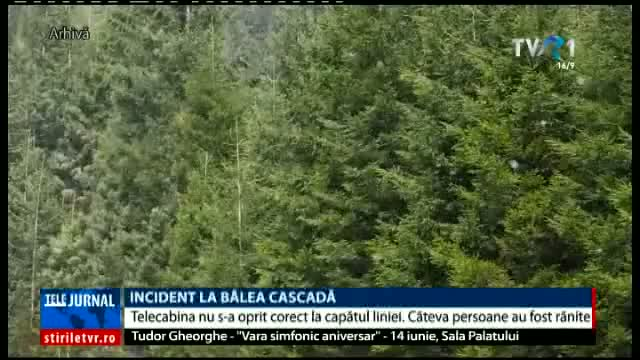 Incident la Bâlea Cascadă