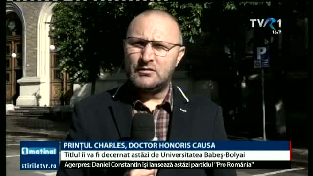 Prințul Charles, doctor Honoris Causa