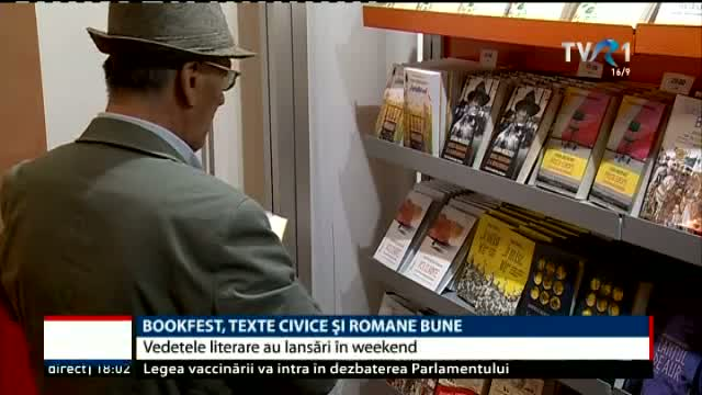Bookfest, texte civice și romane bune