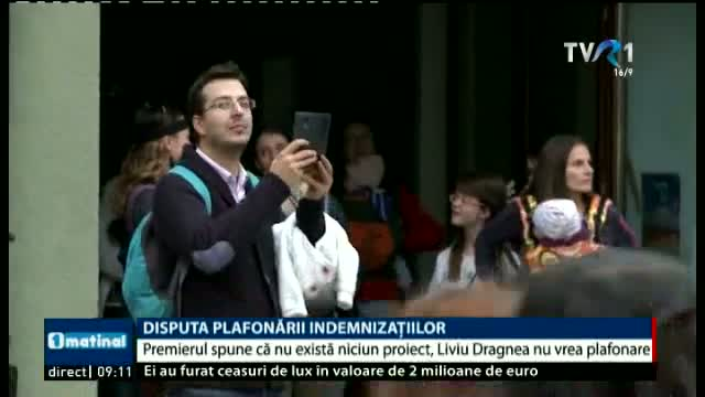 Disputa plafonării indemnizațiilor