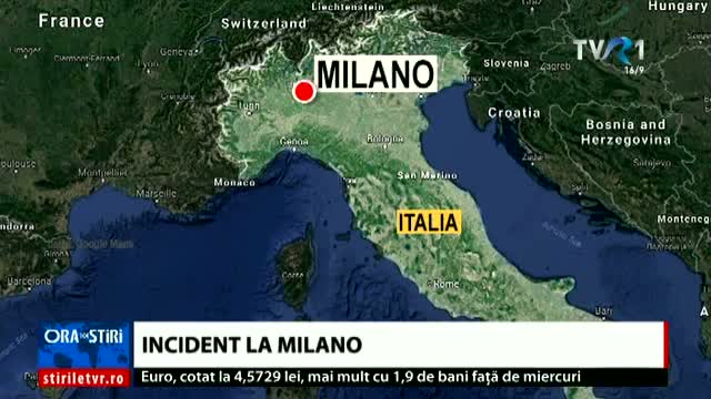 Incident la Milano