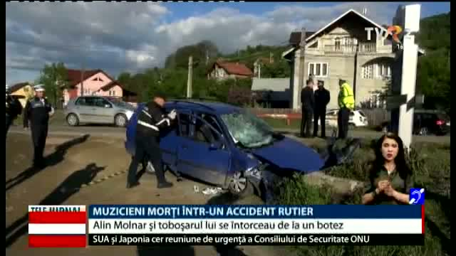 Muzicieni morți în accident