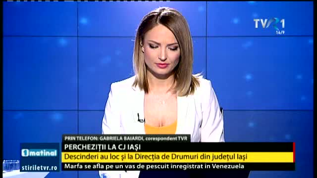 Percheziții la CJ Iași