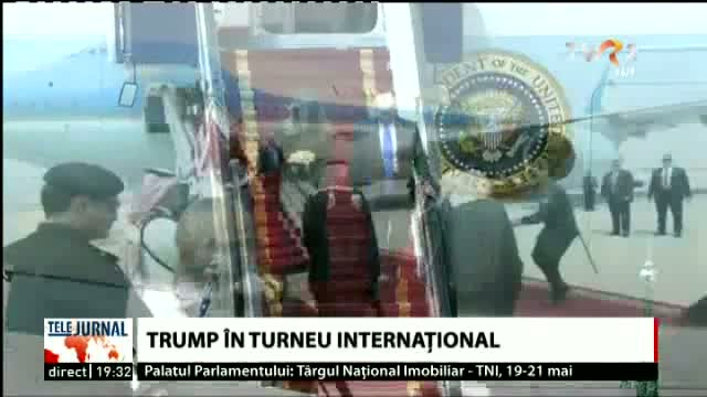 Donald Trump, în turneu internațional