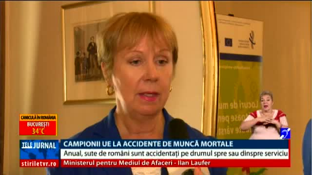 Campioni la accidente de muncă mortale