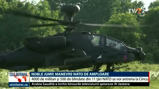 Noble Jump, manevre NATO de amploare