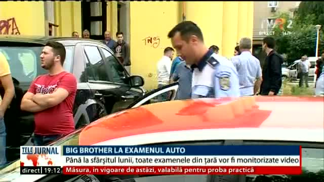 Big Brother la examenul auto