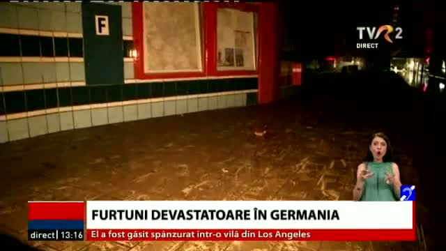 Furtuni în Germania