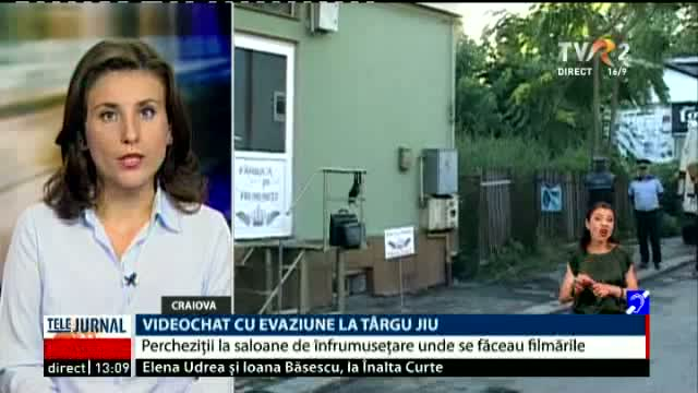 Percheziții la Tg. Jiu