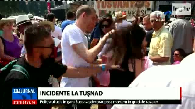 Incidente la Tușnad