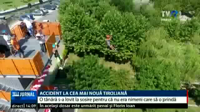 Accident la cea mai mare tiroliană