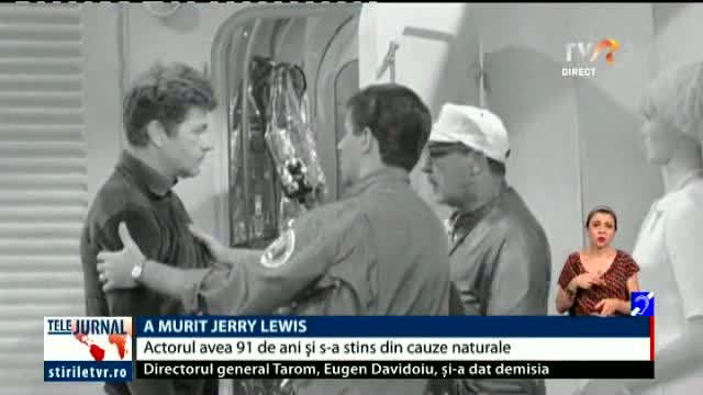 A murit Jerry Lewis