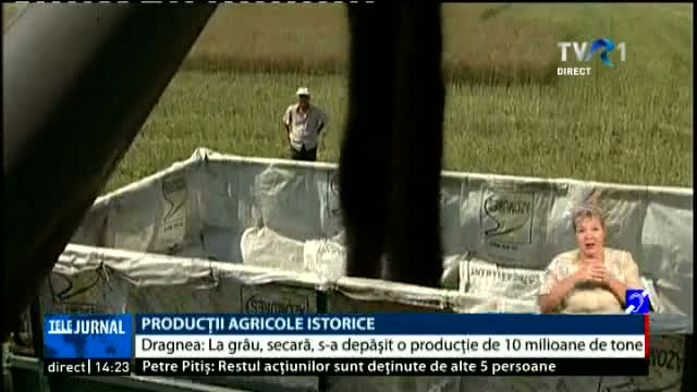 Productie agricola record