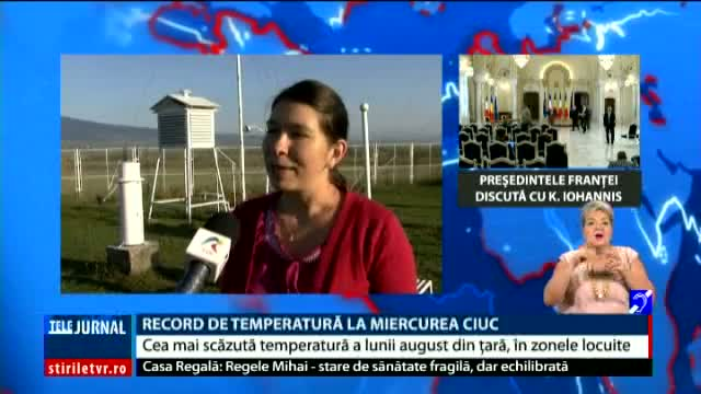 Record de temperatură