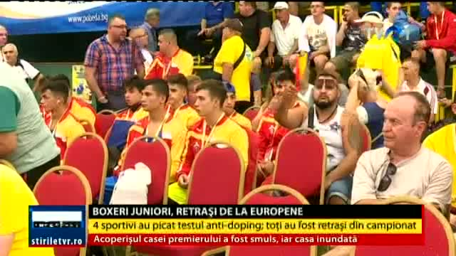 Boxeri juniori, retrași de la Europene