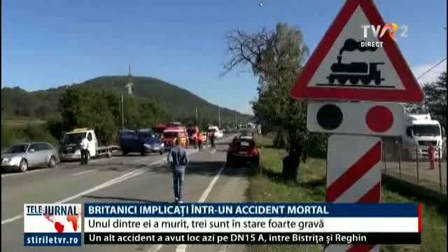 Britanici implicați într-un accident mortal
