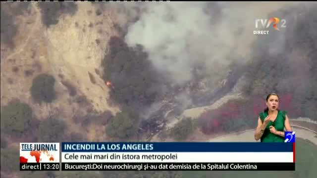 Incendii la Los Angeles