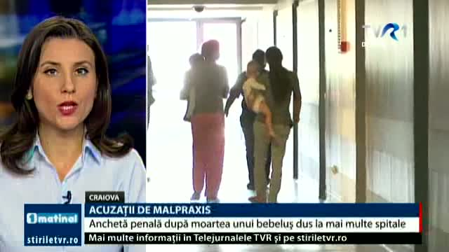 Acuzații de malpraxis, Telejurnal ora 8.00