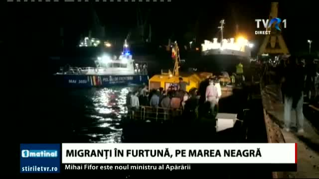 Migranti in furtuna, pe Marea Neagra