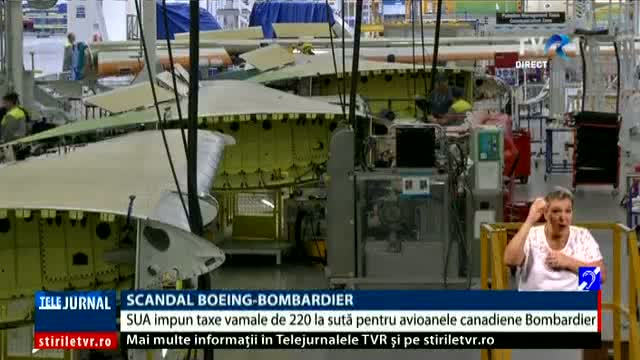 Scandal Boeing - Bombardier