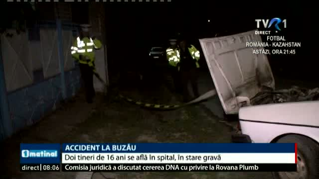 Accident la Buzau