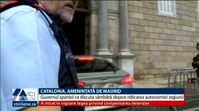 Catalonia, amenintata de Madrid
