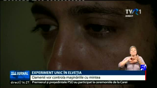 Experiment unic in Elvetia