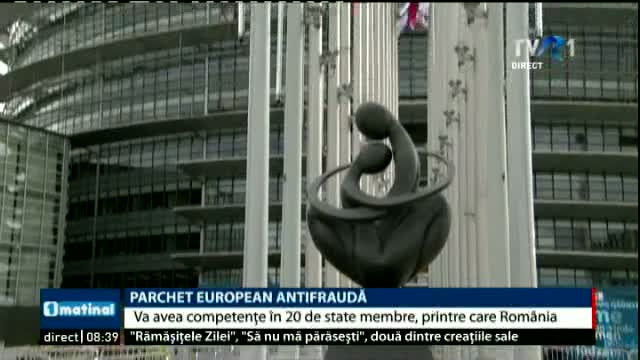 Parchet european antifrauda