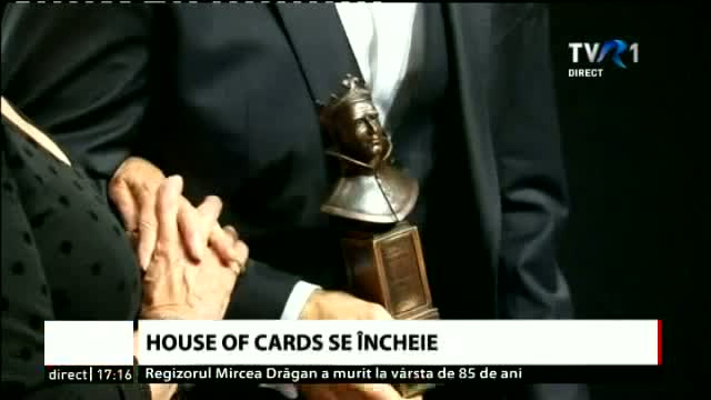 House of cards se încheie