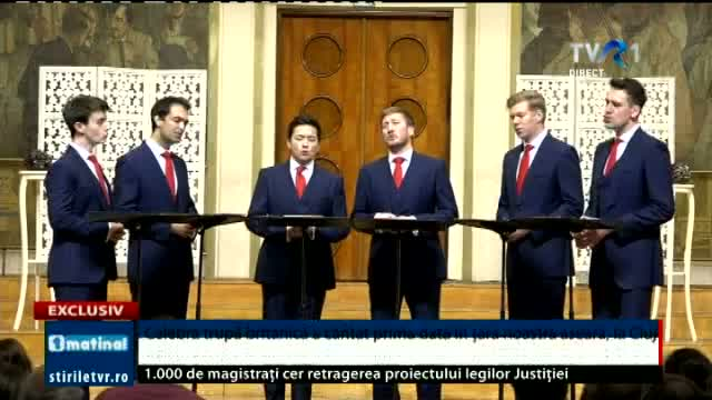 The Kings Singers in Romania