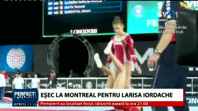 Larisa Iordache s-a accidentat