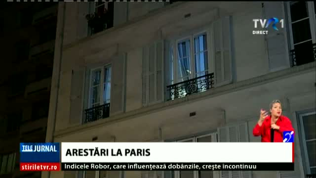 Arestari la Paris