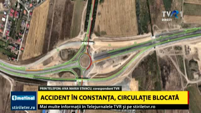 Accident în Constanța