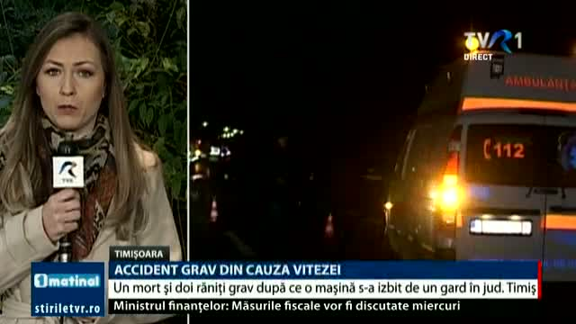 Accident rutier la Timișoara