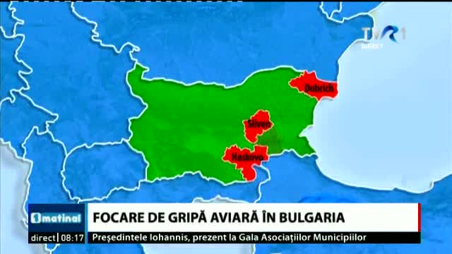Gripa aviara in Bulgaria