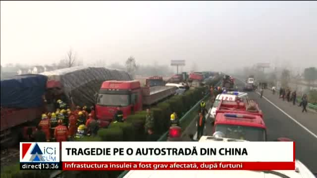 Accident în China