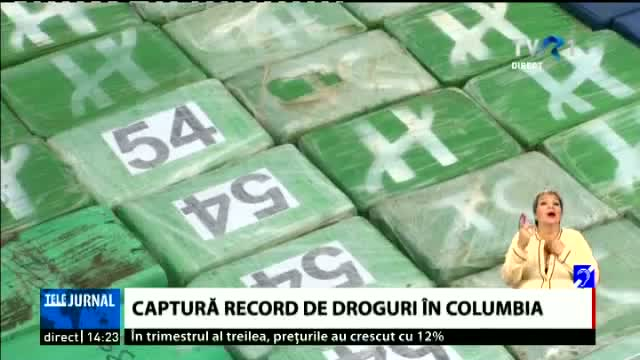Captura record de droguri