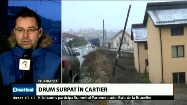 Drum surpat în cartier