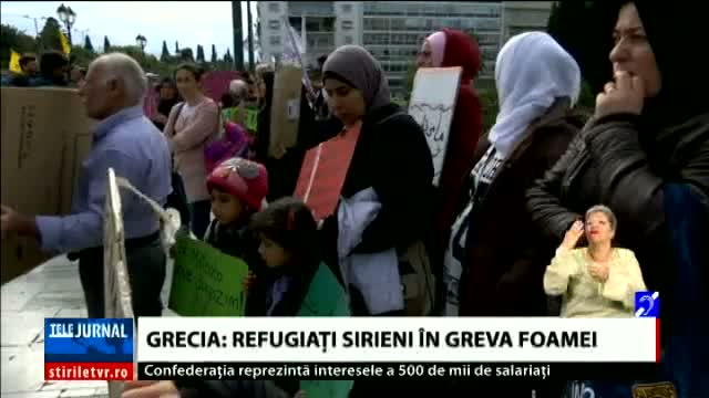Refugiati in greva foamei