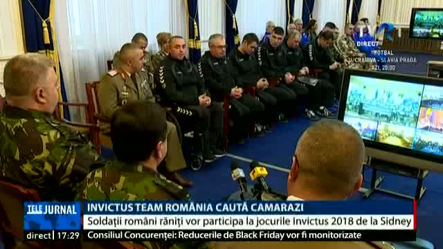 Invictus Team Romania caută camarazi