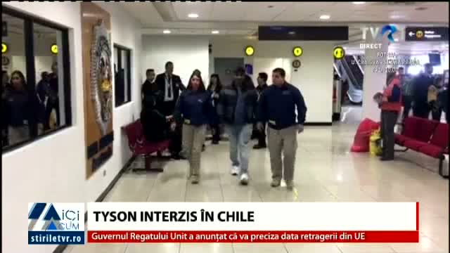 Tyson interzis in Chile