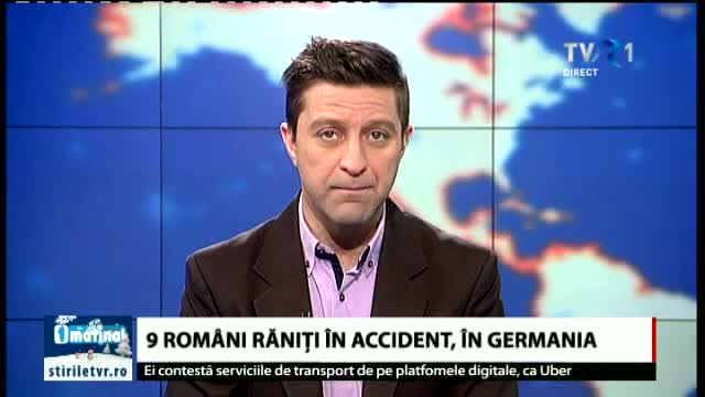 Accident in Germania, 9 romani raniti