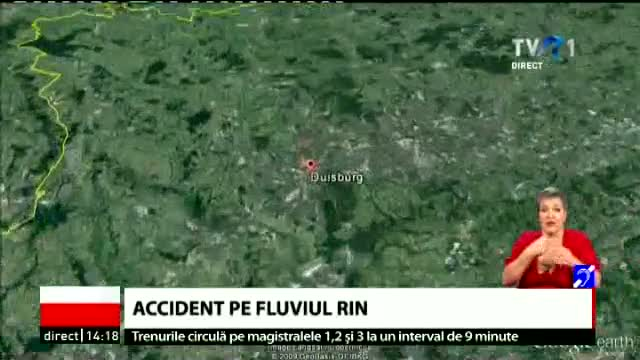 Accident pe Rin