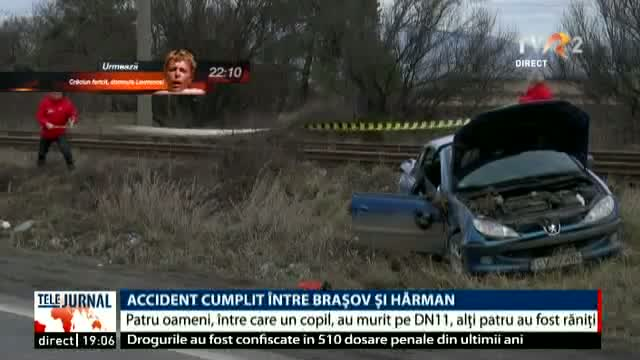 Accident între Brașov și Hărman