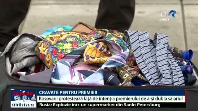 Protest cu cravate